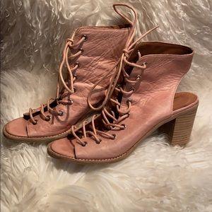 Jeffrey Campbell pink heeled sandals, 9